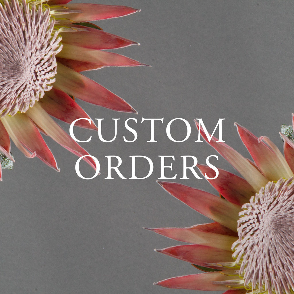 Custom Orders - Flower and Thorn