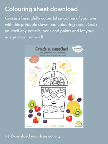 Fruity Blender Printable