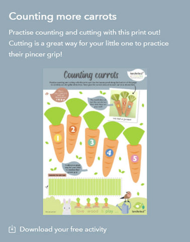 Counting Carrots Printable