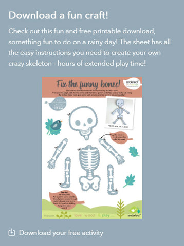 Ouch Skeleton Printable