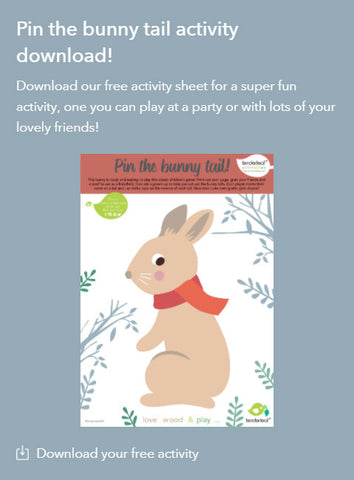 Rabbit Ride On Pin the Tail Printable