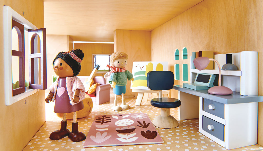 Dolls House Study Furniture
