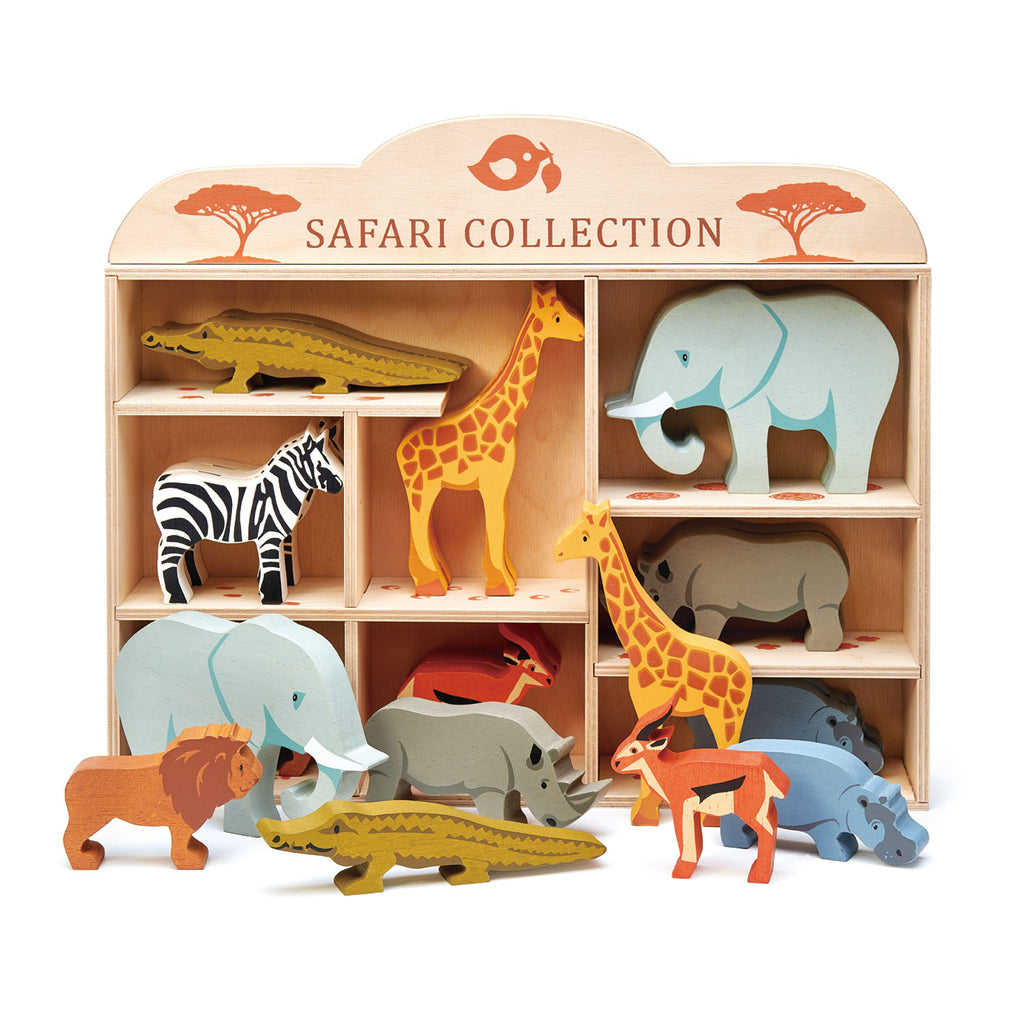 Safari Collection - 3 of each piece in a display stand