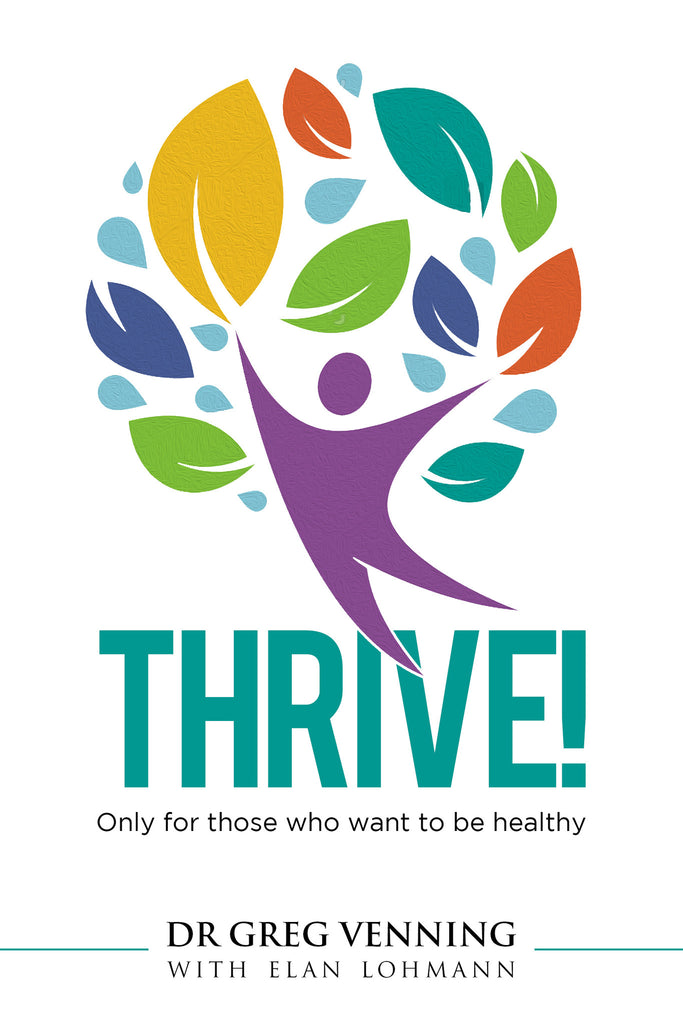 Thrive! - 1 Signed Copy & FREE shipping in South Africa