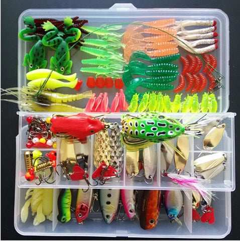 132 Piece Fishing Lure Kit
