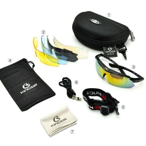 5 Lens OT Sunglasses Kit
