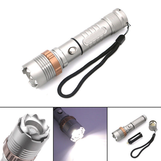 Hi Quality 1000 Lux Aluminum Flashlight