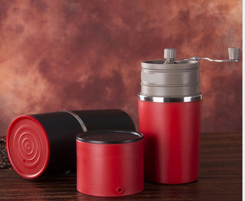Travel Coffee Maker & Grinder