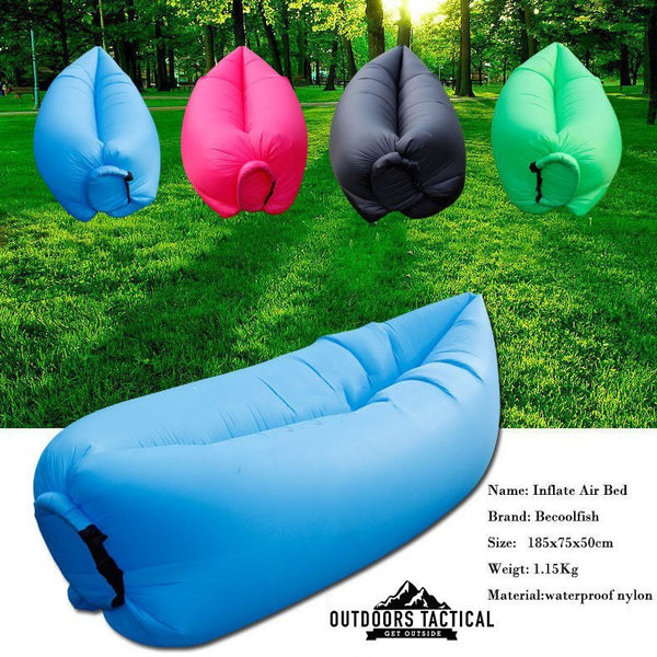 Air Chair Fast Inflatable Camping/ Outdoors Lounger
