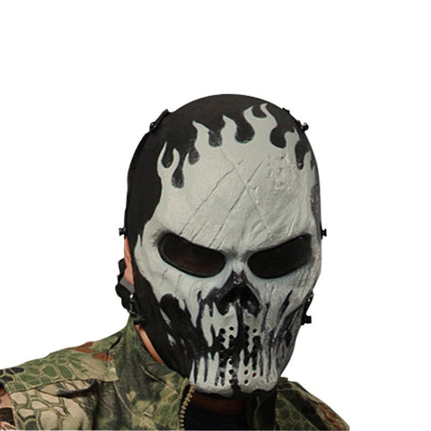 Camouflage Skull Game Mask
