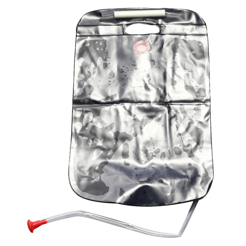 Shower Bag 20l camp shower bag with tap. heats water using sun in 3 hours