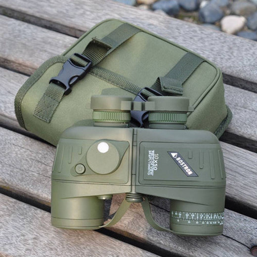 10X Zoom Binoculars With Rangefinder