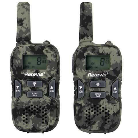 Kids Camo Walkie Talkie
