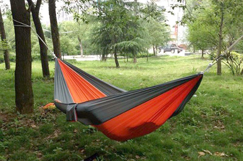 Portable Parachute Hammock 9ft Long 4 6ft Wide Holds 300lbs Nylon