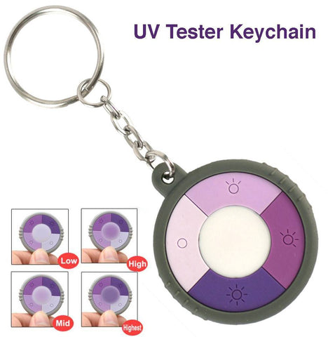 UV KeyChain - MEASURE YOUR UV EXPOSURE