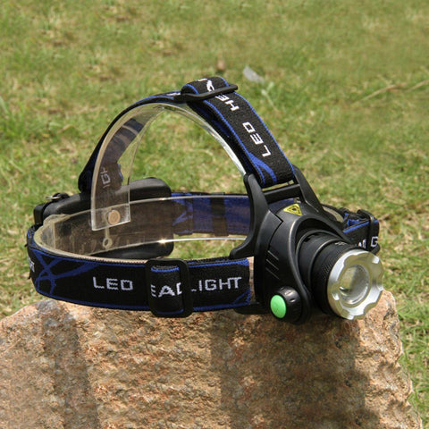 Zoomable 3 Mode Headlamp