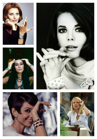 Famous Fashion Icons Wearing Bracelets