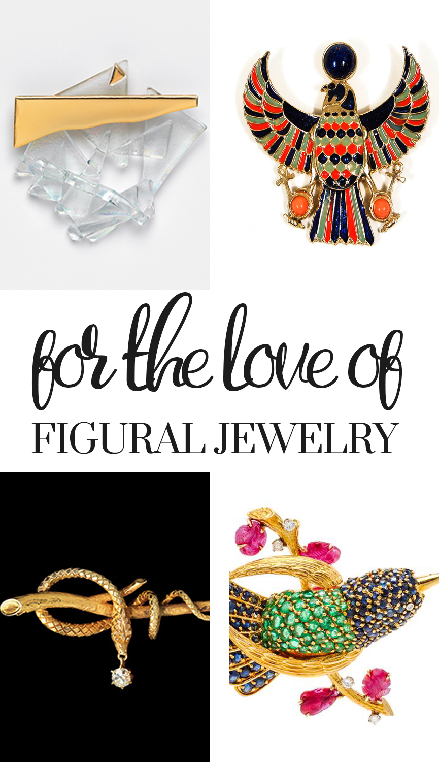 For the Love of Figural Jewelry