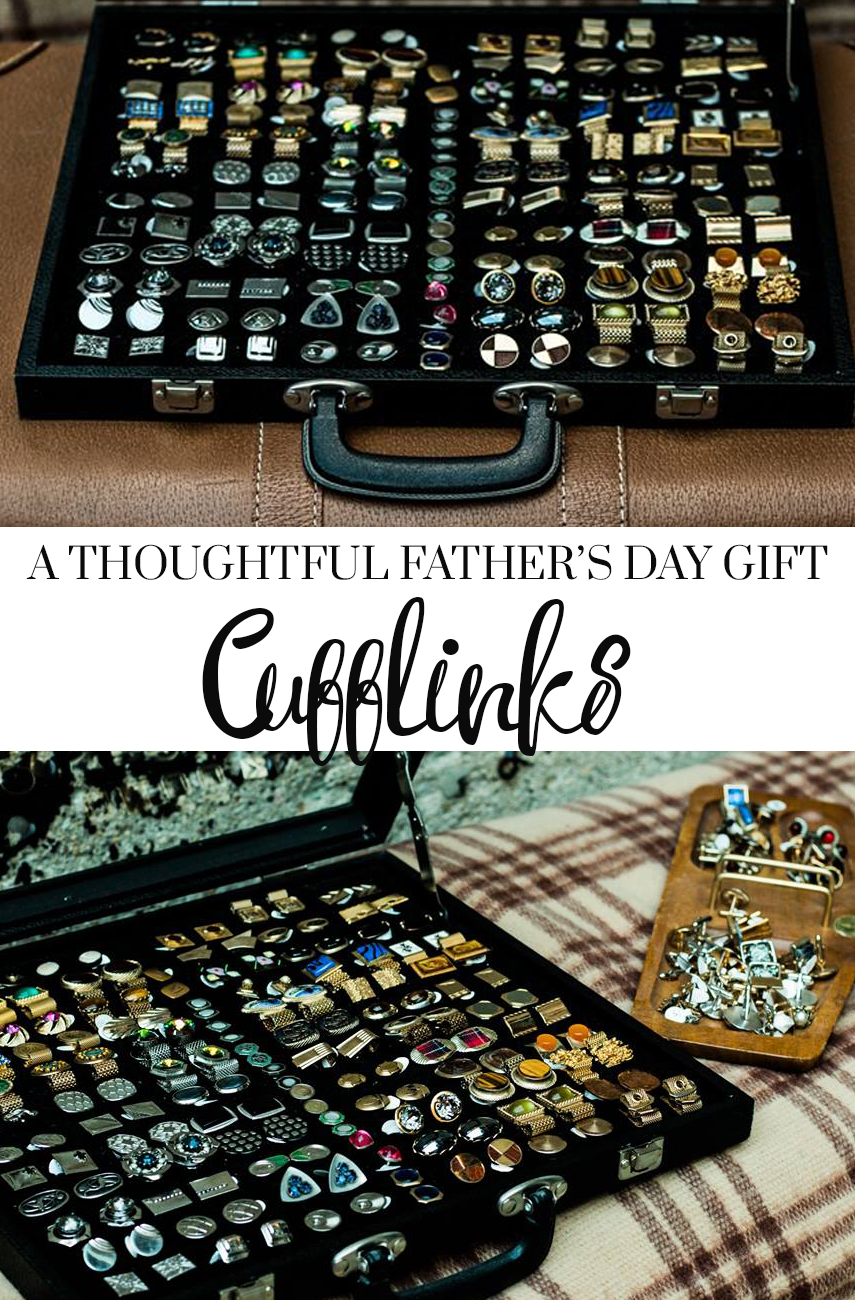A Very Thoughtful Father's Day Gift: Cufflinks