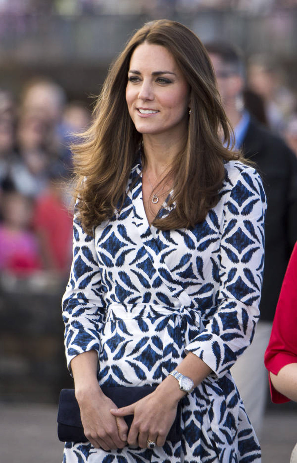 Kate Middleton in DVF