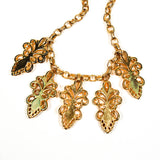 Escada Gold and Jewel Toned Charm Statement Necklace - Vintage Meet Modern  - 6