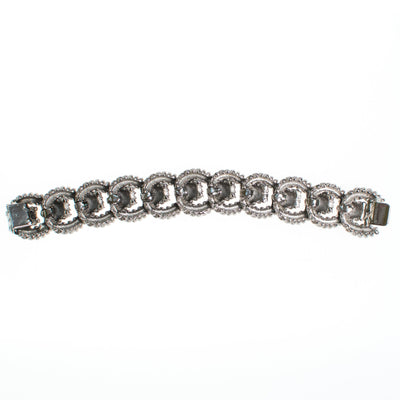 Ciner Essential Love Links Bracelet in Rhodium by Ciner - Vintage Meet Modern - Chicago, Illinois