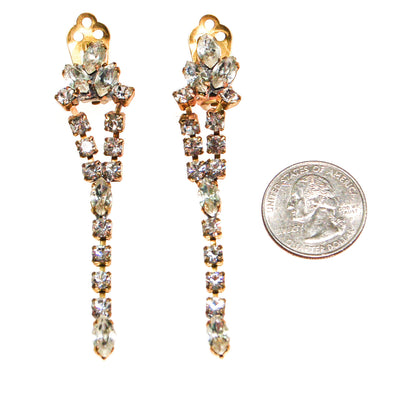 Czech Rhinestone Chandelier Earrings by Czech Republic - Vintage Meet Modern Vintage Jewelry - Chicago, Illinois - #oldhollywoodglamour #vintagemeetmodern #designervintage #jewelrybox #antiquejewelry #vintagejewelry
