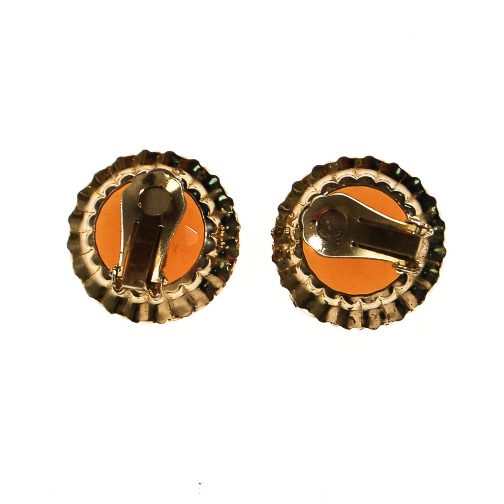 Smokey Topaz Crystal Statement Earrings - Vintage Meet Modern  - 3