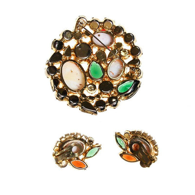 Juliana D&E Easter Rhinestone Egg Brooch and Earring Set by Juliana - Vintage Meet Modern Vintage Jewelry - Chicago, Illinois - #oldhollywoodglamour #vintagemeetmodern #designervintage #jewelrybox #antiquejewelry #vintagejewelry