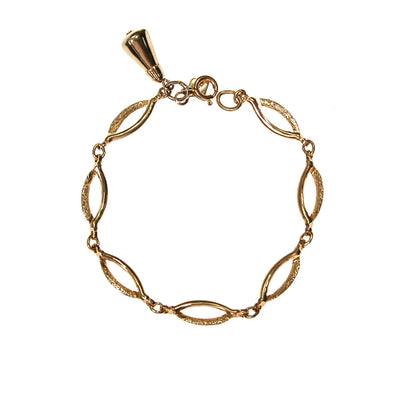 Sarah Coventry Gold Link Bracelet by Sarah Coventry - Vintage Meet Modern - Chicago, Illinois
