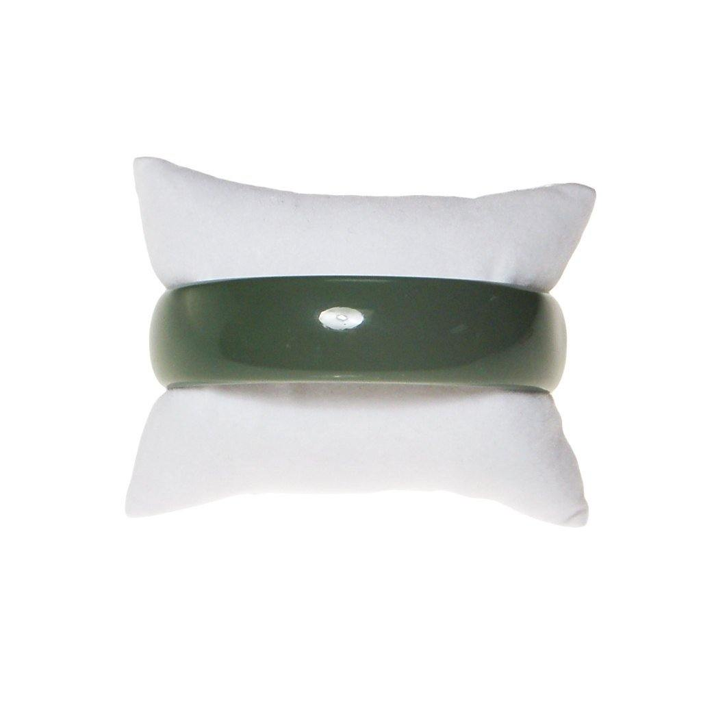 Olive Green Bangle Bracelet, Bracelet - Vintage Meet Modern