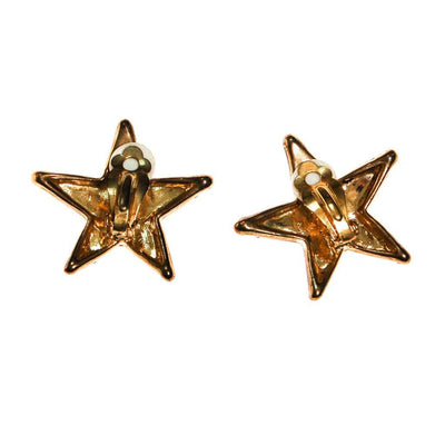 Red, White and Blue Rhinestone Star Earrings by Unsigned Beauties - Vintage Meet Modern Vintage Jewelry - Chicago, Illinois - #oldhollywoodglamour #vintagemeetmodern #designervintage #jewelrybox #antiquejewelry #vintagejewelry