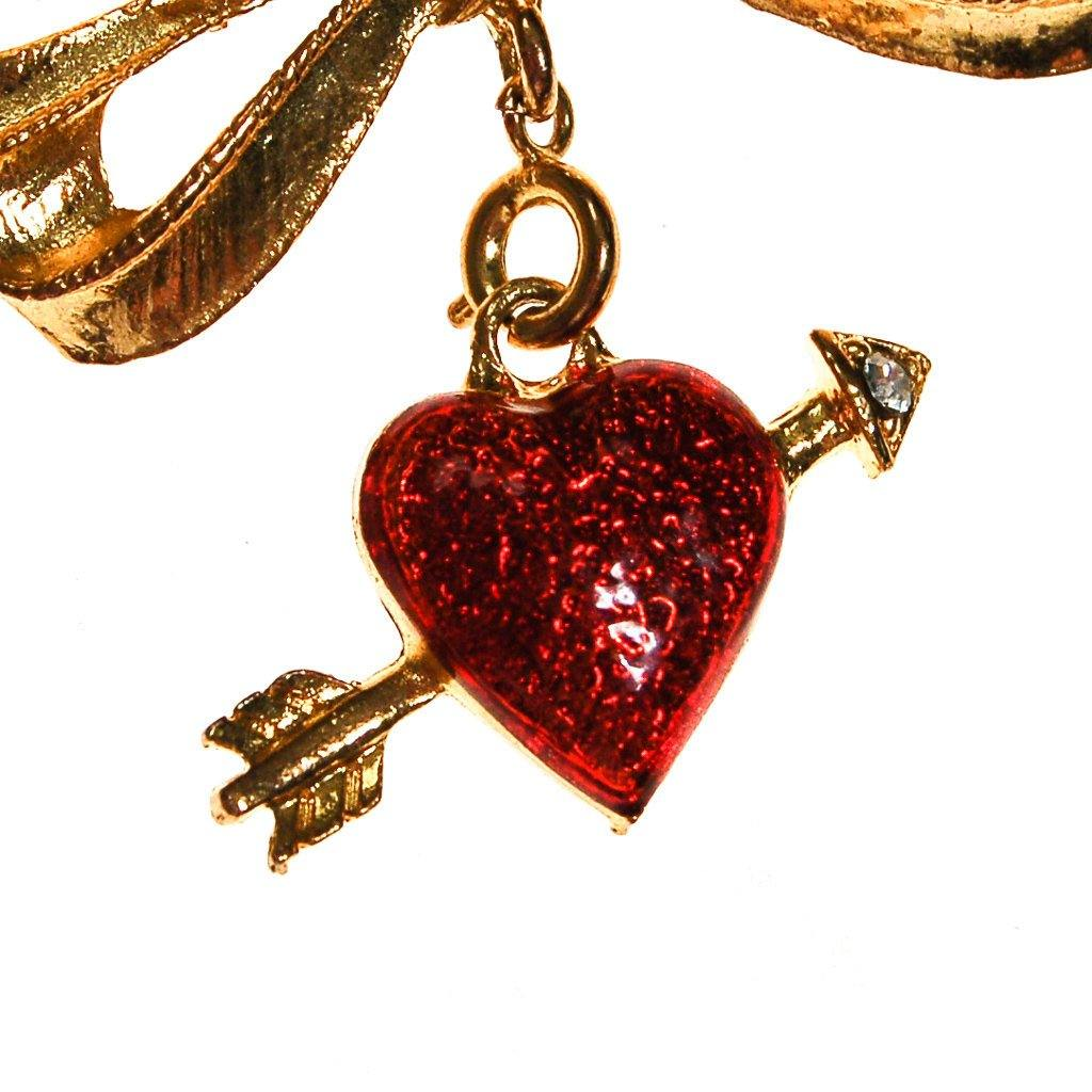 Cupids Heart and Arrow Brooch by Phister Enterprises - Vintage Meet Modern  - 3