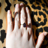 Amethyst CZ Statement Ring - Vintage Meet Modern  - 6