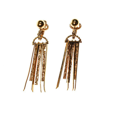 Gold Dagger Spike Earrings by Winard by Winard - Vintage Meet Modern Vintage Jewelry - Chicago, Illinois - #oldhollywoodglamour #vintagemeetmodern #designervintage #jewelrybox #antiquejewelry #vintagejewelry