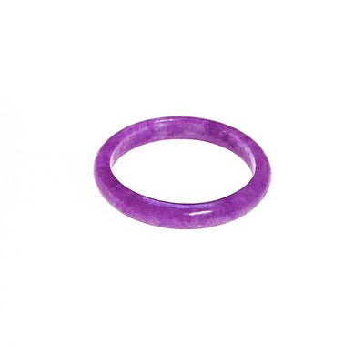 Purple Jade Band Ring by Jade - Vintage Meet Modern - Chicago, Illinois