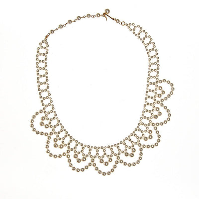 Pearl Collar Necklace by Made in Japan - Vintage Meet Modern - Chicago, Illinois