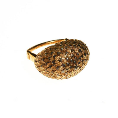 Vendome Gold Feather Ring by Vendome - Vintage Meet Modern - Chicago, Illinois