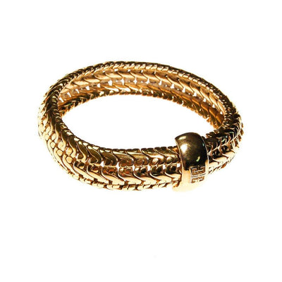 Givenchy Gold Chain Bangle Bracelet by Givenchy - Vintage Meet Modern Vintage Jewelry - Chicago, Illinois - #oldhollywoodglamour #vintagemeetmodern #designervintage #jewelrybox #antiquejewelry #vintagejewelry