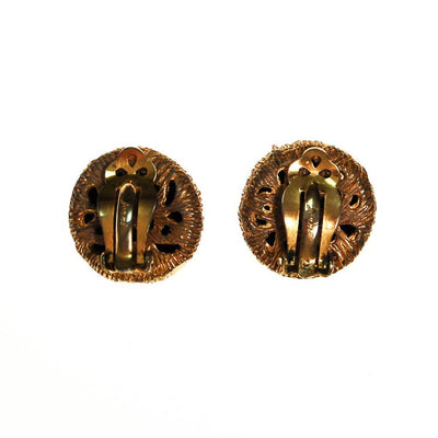 Jonne House of Schrager Black and Gold Clip Earrings by House of Schrager - Vintage Meet Modern Vintage Jewelry - Chicago, Illinois - #oldhollywoodglamour #vintagemeetmodern #designervintage #jewelrybox #antiquejewelry #vintagejewelry