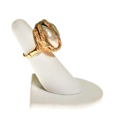 Vendome Swirled Pearl Statement Ring by Vendome - Vintage Meet Modern - Chicago, Illinois