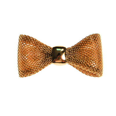 Diane von Furstenberg Gold Bow Pin by Diane von Furstenberg - Vintage Meet Modern Vintage Jewelry - Chicago, Illinois - #oldhollywoodglamour #vintagemeetmodern #designervintage #jewelrybox #antiquejewelry #vintagejewelry