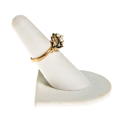Pearl Daisy Flower Ring by Mid Century Modern - Vintage Meet Modern - Chicago, Illinois