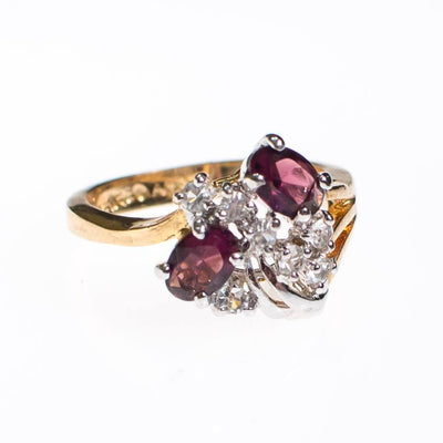 Amethyst Cluster Cocktail Ring by Amethyst - Vintage Meet Modern - Chicago, Illinois