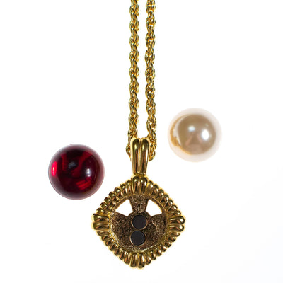 KJL Interchangeable Necklace by Kenneth Jay Lane - Vintage Meet Modern - Chicago, Illinois