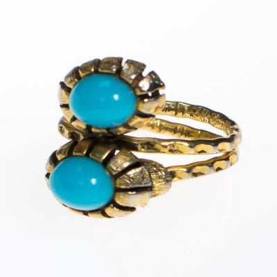 Vintage 1960s Snake Head Bypass Ring by 1960s - Vintage Meet Modern - Chicago, Illinois
