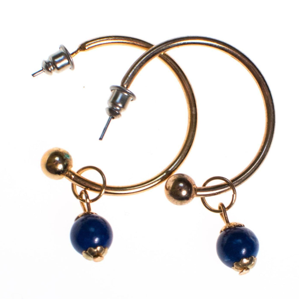 Blue lapis Eaarrings