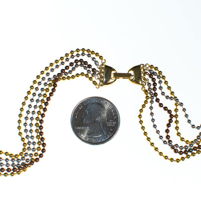 Vintage Ulta Long Beaded Chain Necklace by Diane von Furstenberg, Necklace - Vintage Meet Modern
