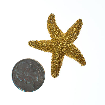 Vintage Starfish Brooch by 1980s - Vintage Meet Modern Vintage Jewelry - Chicago, Illinois - #oldhollywoodglamour #vintagemeetmodern #designervintage #jewelrybox #antiquejewelry #vintagejewelry
