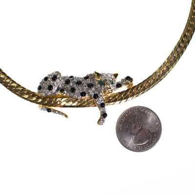 Spotted Leopard Necklace by 1980s - Vintage Meet Modern - Chicago, Illinois